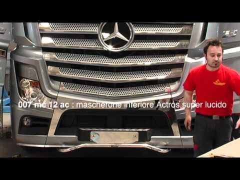 Mercedes Actros 2012: Acitoinox presenta la nuova linea accessori