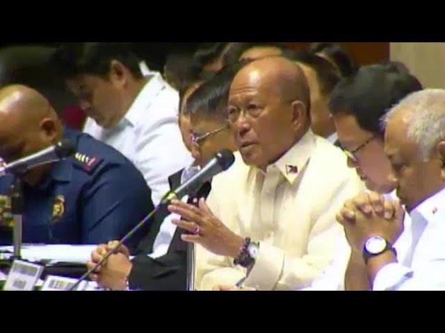 'Rebellion has not stopped' in Mindanao – Lorenzana