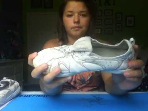 Review Nfinity Phoniex Cheerleading Shoes Youtube