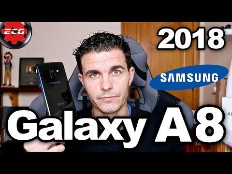 Samsung Galaxy A8 2018 review completa en español
