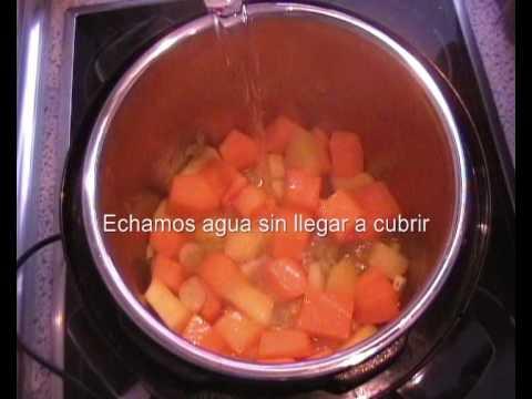 Crema de Calabaza Olla GM - Recetas con Calabaza