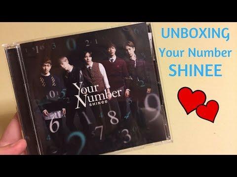 download lagu Unboxing Shinee - Your Number Cd+dvd gratis