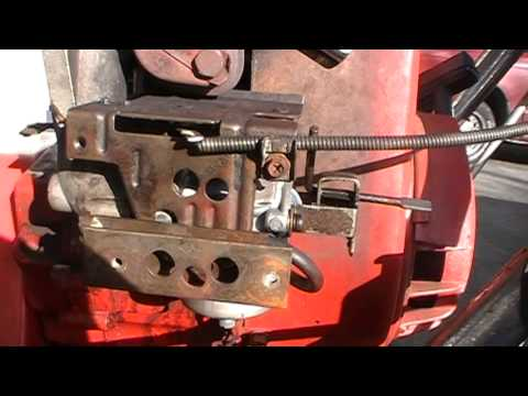 How To Adjust The Carburetor Idle On Snowblower With Tecumseh Engine Toro Ariens