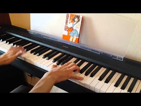 Suzumiya Haruhi no Yuuutsu - Hare Hare Yukai piano
