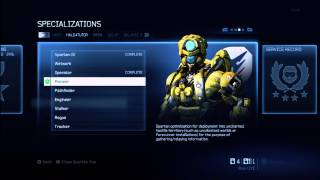 Halo 4 Tips and Tricks | Specialization Details | Unlock New Armor, Upgrades, & Packages