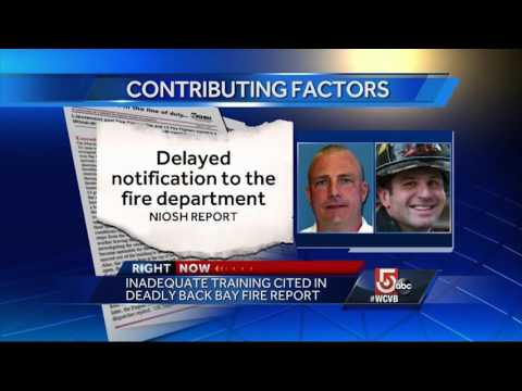 Federal investigators release findings into fatal Back Bay fire
