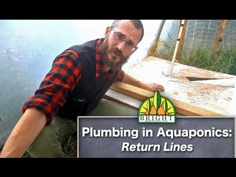 Plumbing an Aquaponics System: Return Lines