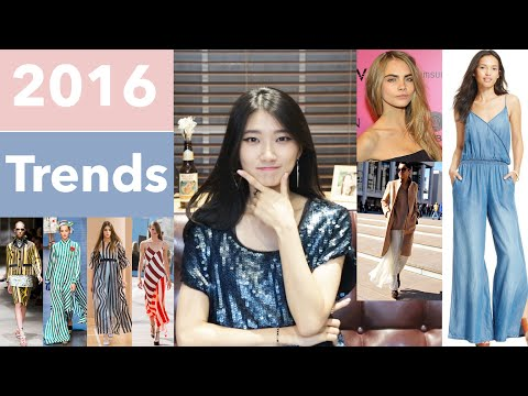 Fashion Trend Report 2016 | Style, Hair, Shoes, Pantone Color, Textures, Patterns