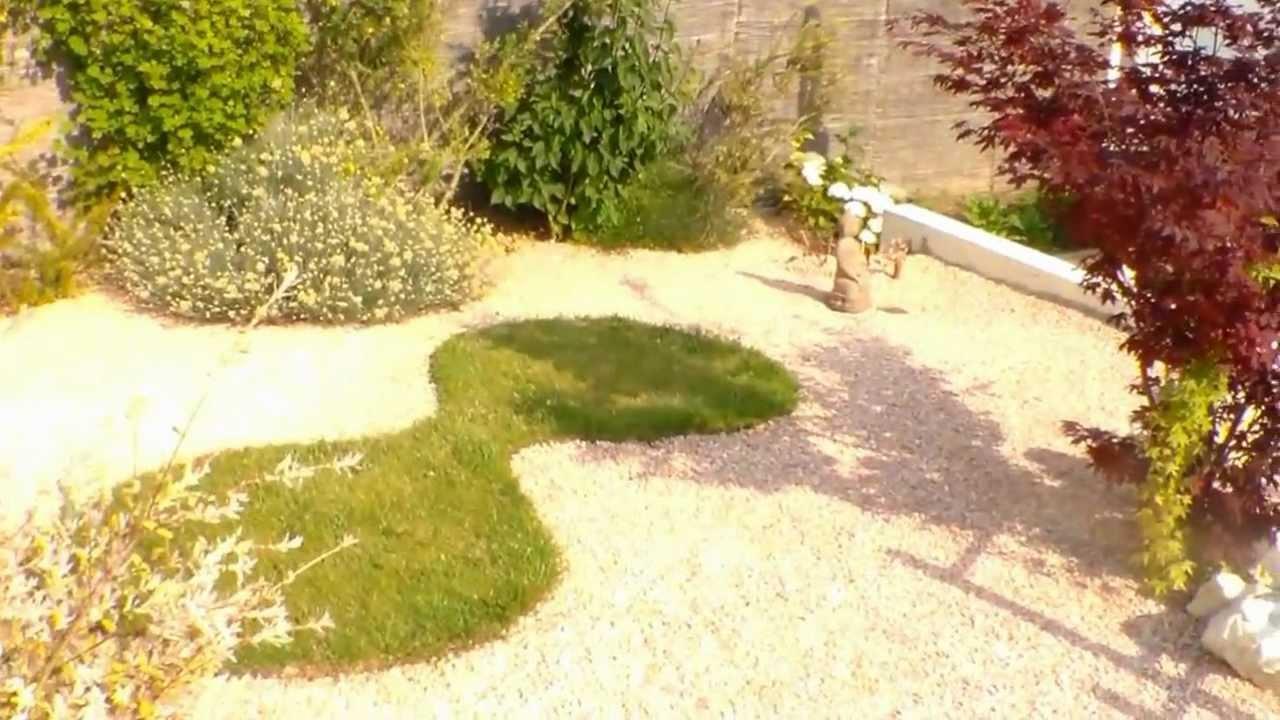 to create a japanese garden creer un jardin japonais youtube. Black Bedroom Furniture Sets. Home Design Ideas