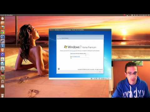 How to Install Windows 7 in VirtualBox within Ubuntu 12.04