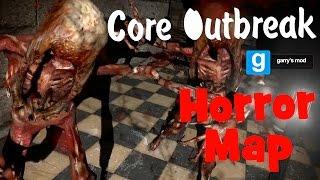 Garry's Mod. Horror Map. Core Outbreak.