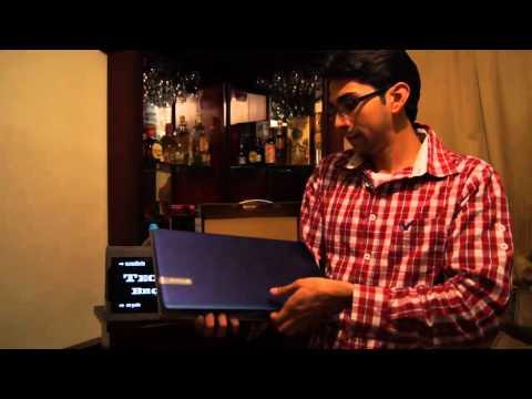 Laptop Gateway NV57h13m Unboxing