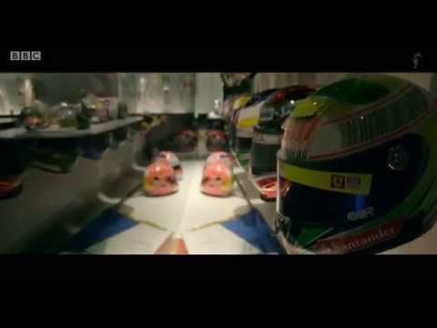 2015 Belgium - Fernando Alonso takes Lee McKenzie on a tour of his museum
