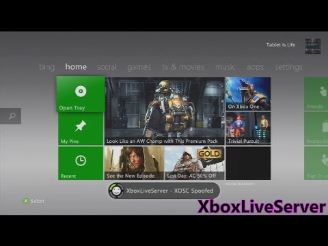 XboxLiveServer | Best XOSC Spoofing! | 17150