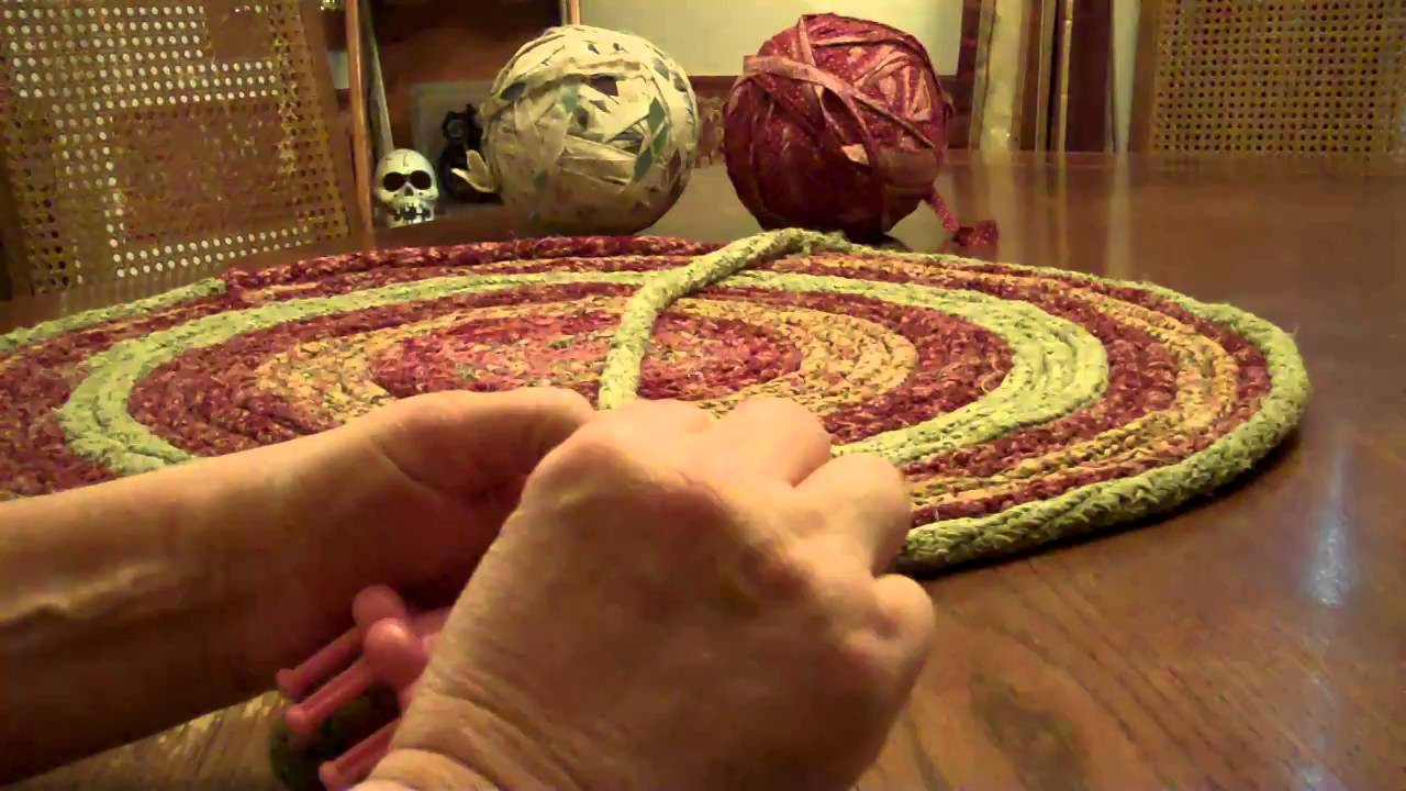 Braided Rug Making