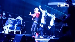 【HD Fancam】【凯千 | KaiQian】150815 TFBOYS FANS TIME : Karry Was Watching Jackson's Solo Performance