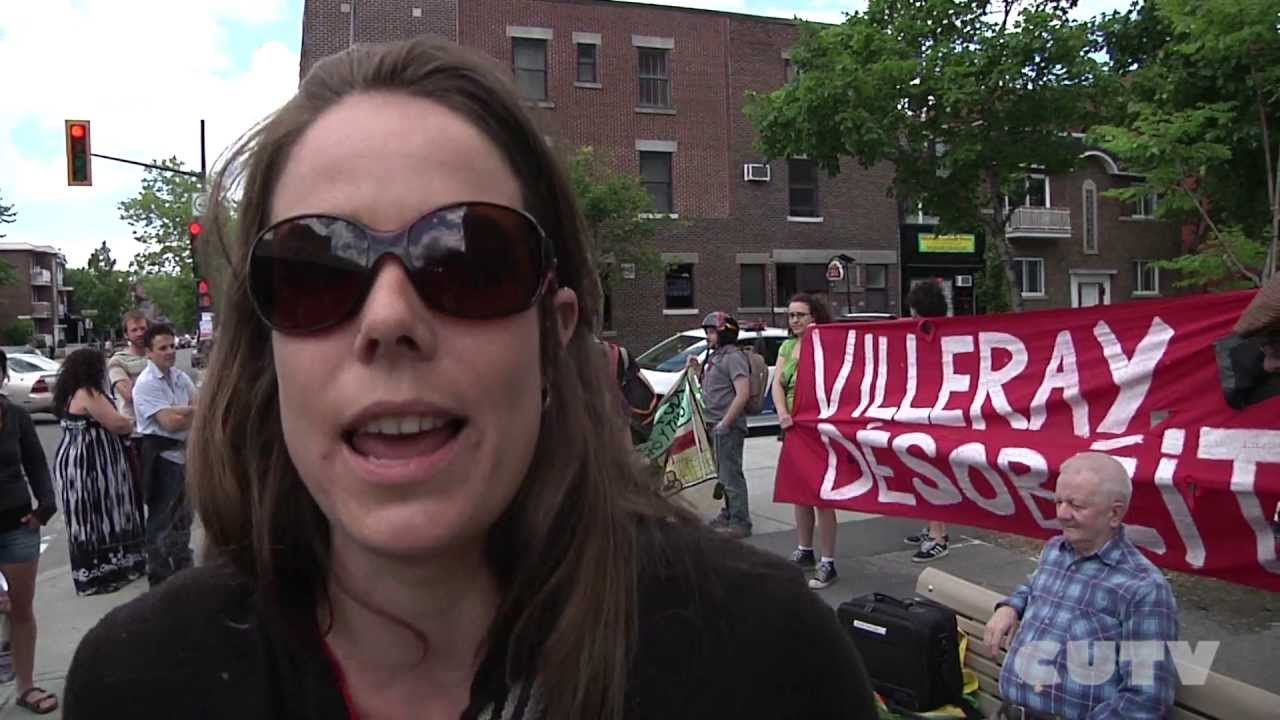 Villeray protest June 9 2013