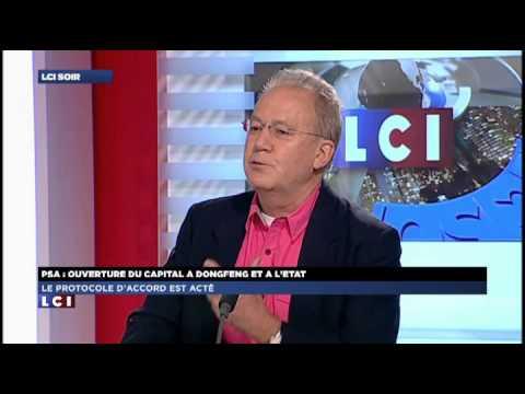PSA Peugeot-Citroën : l'interview de Patrick Bord sur LCI