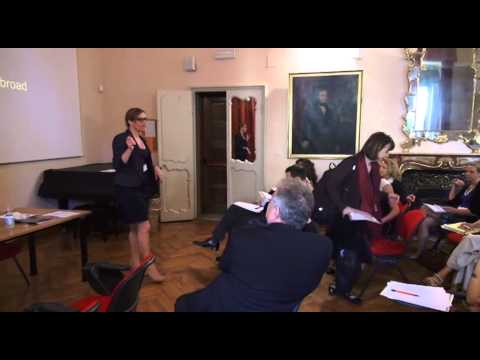 CONFERENCE ON EDUCATION ABROAD AT SYRACUSE UNIVERSITY IN FLORENCE Part1