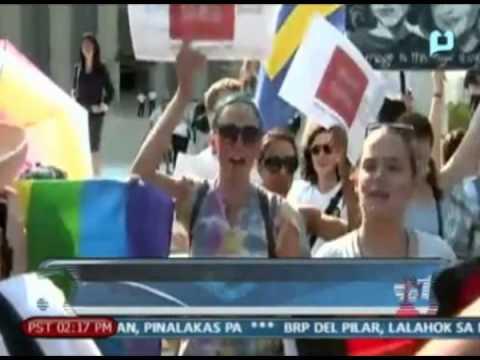 [news1] Globalita: Supreme Court Ng Amerika, Kinilala Ang Same Sex Marriage video