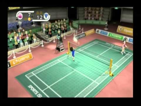 Sports Island Badminton match with BB8 - second part -