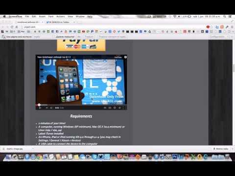 AVISO: Jailbreak Untethered iOS 6.1.3 - 6.1.4 con unja1l es FAKE!!