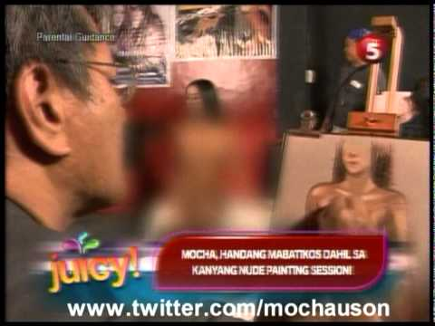 Nude Live Painting of Mocha Uson (Juicy Tv5)