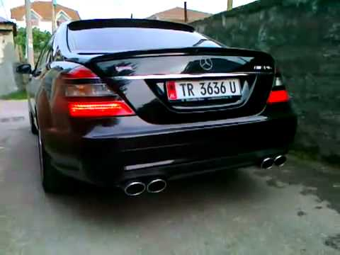 Mercedes Benz S Klasse 65 AMG Albanian Exhausts Very Loud and Good Sound!!! NEW 2011