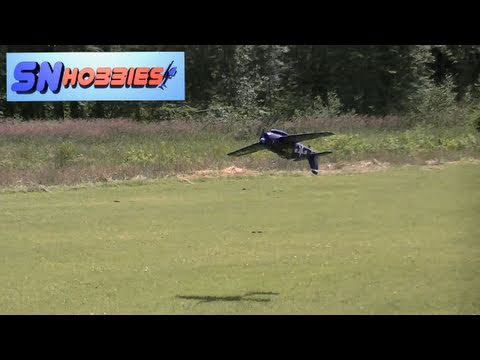 SN Hobbies - FMS F6F Hellcat Flight Testing