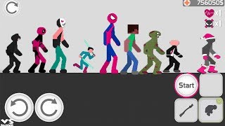 Stickman backflip Killer 3 | All Characters Unlocked : Hack Unlimited Coins - Android GamePlay HD