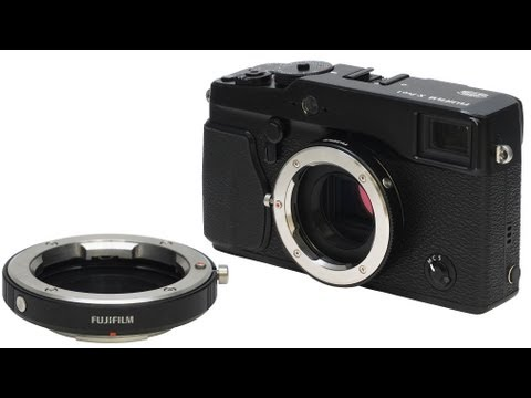 Use Leica M lenses on your Fuji X Pro-1