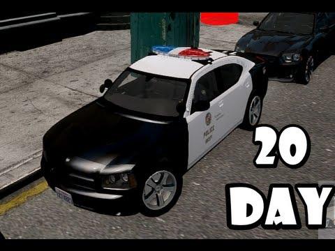 GTA IV: LCPDFR Day 20 - LAPD Patrol