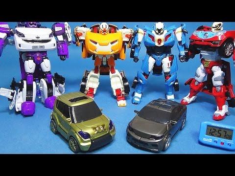 또봇 폭풍스핀 타이탄 X Y 한정판 1분 안에 변신시키기 변신동영상 장난감 Tobot Spin Titan(L.E.) toy transformation in 1 Min.