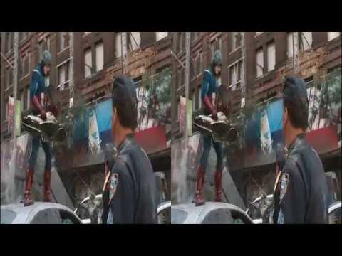 The Avengers (2012) in 3D HD (movie trailer-2a)