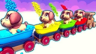 Trains For Kids - Choo Choo Train - Trains For Toddlers - Toy Factory Train - Thomas The Train  Kido