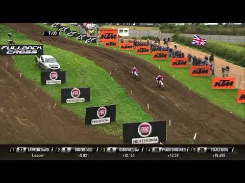 Osborne vs Bogers Battle for the Monster Energy FIM MXoN Presented by Fiat Professional