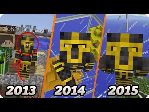 LA EVOLUCIÓN DE MINECRAFT DESDE 2013