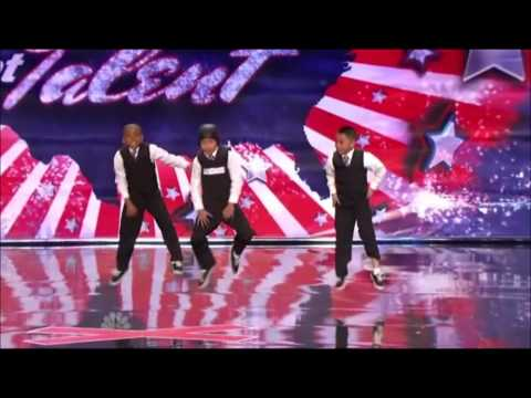 3 Kids Dancing Americas Got Talent video