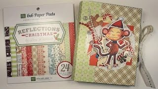 Mini album - Scrapbooking tutorials / Aida Handmade