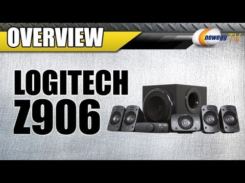 Newegg TV: Logitech Z906 500W 5.1 Speakers Overview