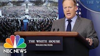 White House Blasts Media Over Inauguration Coverage | NBC News