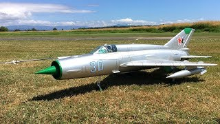 Freewing MiG-21 80mm EDF Jet Fighter at Warbirds Over Whatcom