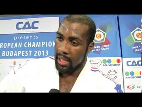 Interview Teddy Riner (FRA) +100kg ECh Budapest 2013