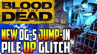 BO4 Zombie Glitches: New DG-5 Jump-In Pile Up Glitch - Blood Of The Dead Glitches