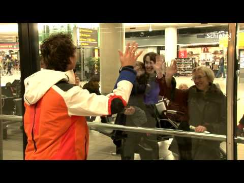 Wereldkampioen Groothuis komt aan op Schiphol