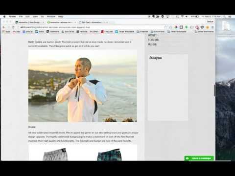 ADRLN blog post content load training