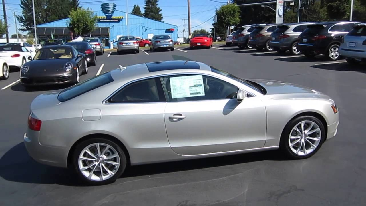 2014 Audi A5 Cuvee Silver Stock 109429 Youtube
