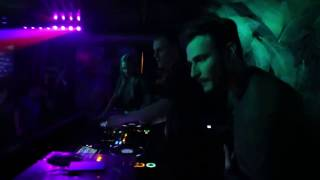 Dennis Frost play techno in FX bar Saint Petersburg