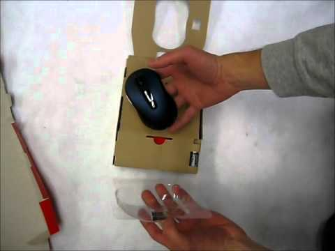 Microsoft Wireless Mobile Mouse 4000 Unboxing