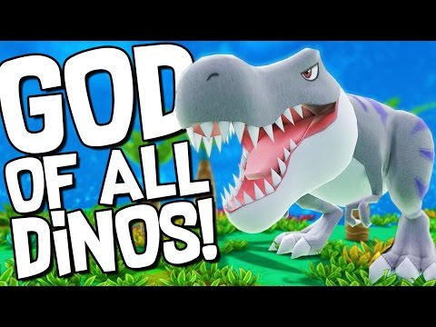 GOD OF THE DINOSAUR WORLD! - Let's Play Birthdays the Beginning Gameplay